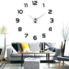 large office wall clocks. Office Wall Clocks Amazon Large Modern Clock Mirror Surface Sticker Home . D