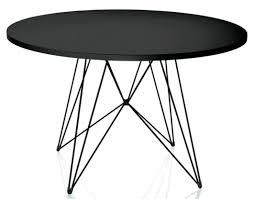 contemporary table metal mdf rectangular xz3