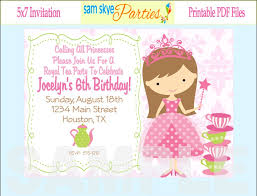 princess dress up royal tea party invitations design inspirations princess dress up tea party invitations