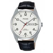 buy pulsar pj6065x1 mens classic wristwatch pulsar pj6065x1 mens classic wristwatch