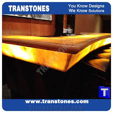 bar top lighting. Lighting Backlit Translucent Solid Surface White Onyx Bar Top,Customer Reception Counter Desk - Transtones Decorating Materials Co., Ltd. Top