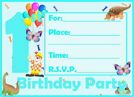 kids birthday invitation template awesome kids birthday invite