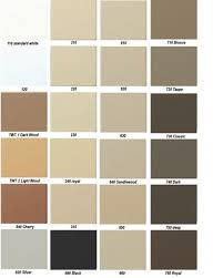 Weather Color Chart Color Matching Chart Vinyldoc