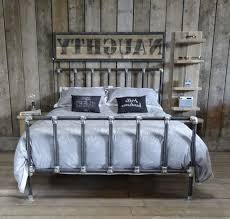 Rustic Metal Bed Frames Frame Iron Headboards Wrought ...