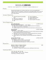 Resume Education Example Luxury Examples Job Resume Examples Of