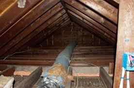 attic in house. uninsulated attic in westport ct house t