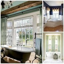 try shutters with a pretty valance or dry over faux wood blinds to soften up the space and add color
