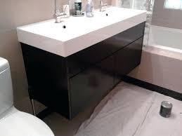 vanities bathroom furniture. Ikea Vanity Bathroom Vanities Furniture Charming Black Painted Floating Small With Single Sink
