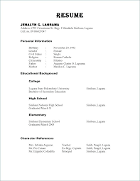 Resume References Example Best Resume References Example Resume With References Example Reference