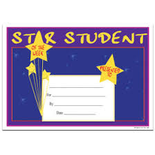 Star Student Certificates Star Student Mini Certificates 57 Off