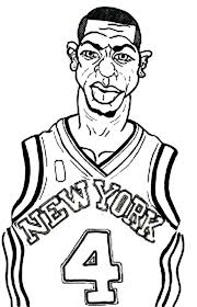 Small Picture Nba coloring pages new york knicks player ColoringStar