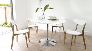white and oak dining set pedestal round white dining table white oak dining room furniture