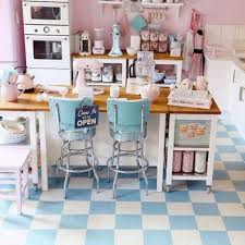 Checkered Kitchen Floor Kitchen White And Wood Kitchen Ideas With Retro Vintage Kitchen