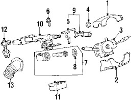 saturn sl2 parts diagram saturn auto wiring diagram schematic parts com saturn sl2 steering column components oem parts on saturn sl2 parts diagram