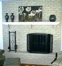 best spray paint for brass fireplace door paint painting fireplace doors makeover ideas best paint for best spray paint