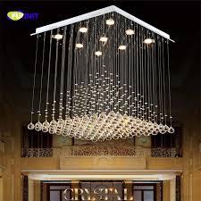 lighting high ceilings. fumat k9 crystal chandelier hotel stair lighting fixture lobby rain drop chandeliers high ceiling ceilings