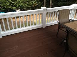 exterior painting and staining traditional deck
