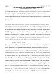 signalling essay oxbridge notes the united kingdom expected utility theory