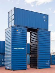 Shipping Container Bureau A Recreates Stonehenge Using Shipping Containers