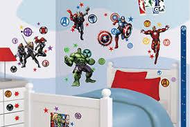 Good Das Bild Wird Geladen Wandsticker Avengers Iron Man Thor Hulk Wandtattoo  Kinderzimmer