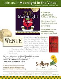 flyers ticket prices moonlight in the vines 2018 sunflower hill