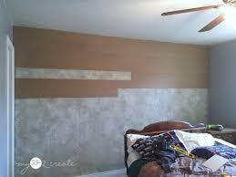 removing warped board on a plank wall