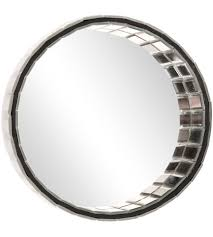 howard elliott collection 99176 prism 10 x 10 inch clear wall mirror photo