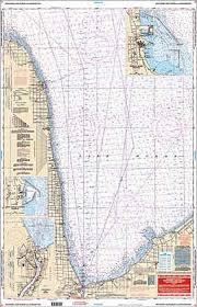 South Lake Huron Saginaw Bay Nautical Chart