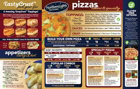 Northern Lights Pizza Hours Northern Lights Pizza Menu