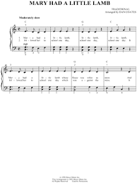 Childrens childrens flute sheet music mary had a little lamb. Traditional Mary Had A Little Lamb Sheet Music In C Major Download Print Sku Mn0041394
