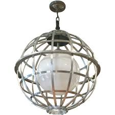 viyet designer furniture lighting historical materialist aluminum globe light fixture