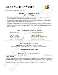 Resume Template For Teacher Inspiration Preschool Teacher Resume Sample Preschool Teacher Resume Samples