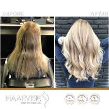 Blonde Coolblonde Haarvisie Haarvisierijswijk Transformation Hairstyle