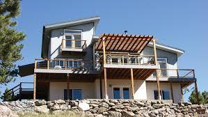 house design for sloping lot homes floor plans