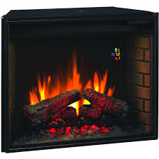 classicflame 28 inch electric fireplace insert 28ef022gra gas log guys