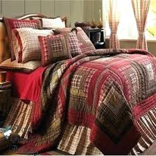 Plaid Comforters And Quilts – co-nnect.me & ... Plaid Twin Quilt Set Plaid Comforters And Quilts Plaid Twin Quilts  Details About Red Rustic Log ... Adamdwight.com