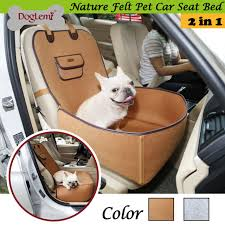 DogLemi Nature Range Pet Dog Front Seat Cover Protector for Cars