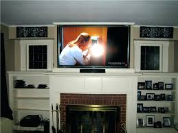 large size of fireplace mount mounting flat screen over brick tv black friday installing wall