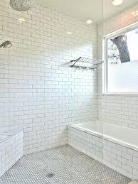 white subway tile dark grout bathroom unique grey elegant gallery ceramic
