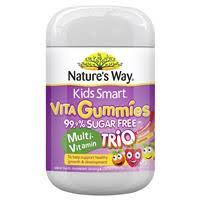 Buy Nature's Way Kids Smart Vita Gummies <b>Sugar Free Multi</b> ...