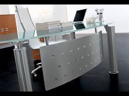 modern glass office desk. Glass Office Desk And Desks For Home Furniture YouTube Intended Idea 10 Modern K