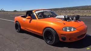 1999 Mazda Miata Fog Light Replacement Car For Sale Hellcat Swapped 1999 Mazda Miata Top Speed