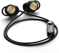Marshall Minor II Bluetooth In-Ear Headphone, Black ... - Amazon.com