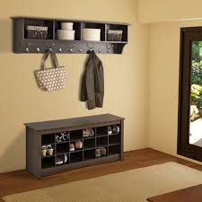 bench with shelf. Entryway Shelf Design Bench With