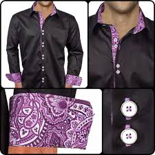 Black Designer Dress Shirt Mens Designer Dress Shirt Harmony In 2019 Shirts Custom