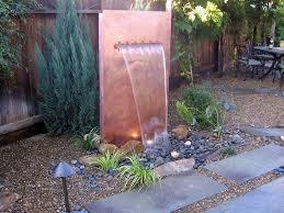 outdoor wall fountains for elegant garden design