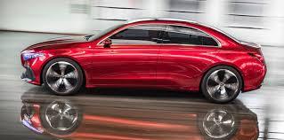 mercedes benz a klasse 2018. beautiful 2018 mercedesbenz concept a sedan 2017 u201c intended mercedes benz a klasse 2018