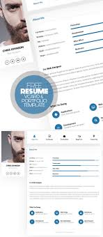 Personal Resume 100 Free Clean Modern CV Resume Templates PSD Freebies 36