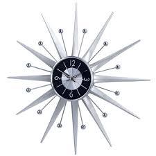 interior decor unique sunburst clock for save you creative brahlersstop com