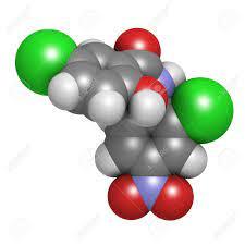 Immagini Stock - Niclosamide Molecola Droga Tenia (antielmintico). Può  Essere Utile Come Farmaco Antidiabetico, Agendo Come Un Disaccoppiatore  Mitocondriale. Gli Atomi Sono Rappresentati Come Sfere Con Codifica A  Colori Convenzionali: L'idrogeno (bianco),